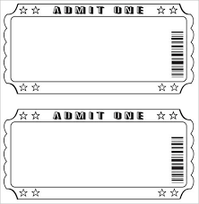 Template For A Raffle Ticket Raffle Ticket Template Excel Shatterlion Info
