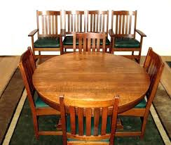 stickley dining table stickley dining room table round