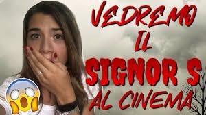 VEDREMO IL SIGNOR S PER LA PRIMA VOLTA!!! IL FILM DEI ME CONTRO TE!