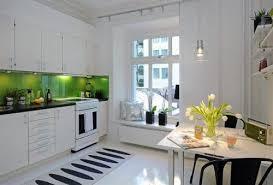 kitchen white glass backsplash. Kitchen. White Kitchen With Green Subway Glass Tiled And Black Granite Counter Top Backsplash