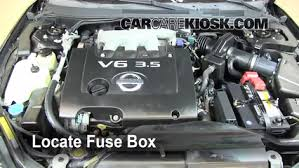 blown fuse check 2002 2006 nissan altima 2003 nissan altima s 2003 nissan altima fuse box under hood at 2003 Nissan Altima Fuse Box Diagram
