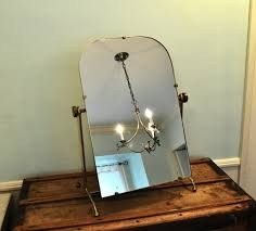 vanity mirror on stand. gold swinging vanity mirror stand standing inside stylish vintage on s