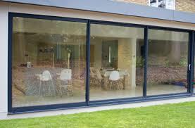 patio door.  Patio Aluminium Patio Door2990mm X 2090mmGrey Inside Door