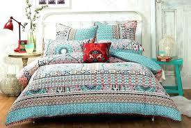 boho comforter twin xl chic bedding modern bohemian duvet covers designer girls bedding sets with regard