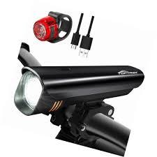 Vistalite Bike Lights Sponsored Ebay Toptrek Usb Rechargeable Bike Lights Set
