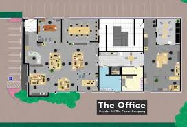 floor plan of the office. We\u0027ve Seen Several Artists Sketch Out Floor Plans For The Homes And Apartments In Our Favorite TV Shows. Now We Get To See How Some Workplaces Are Laid Plan Of Office L