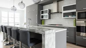 Contemporary kitchen cabinet Hgtv Grey Kitchen Cabinets Hgtvcom Contemporary Kitchen Design Cabinets Ateliers Jacob Calgary