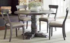 image of the best grey round dining table