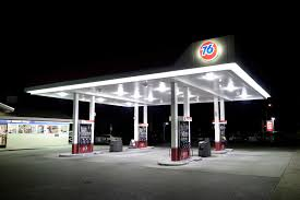 76 gas station lighting project in usa new projects j t lighting led lighting manufacturer