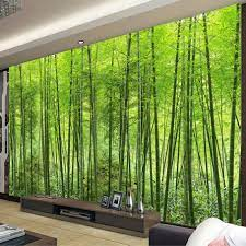Nature Landscape Green Bamboo Forest ...