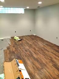 installing floating vinyl plank flooring how to install vinyl plank flooring on concrete incredible best basement