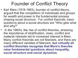 marxist conflict theory essay