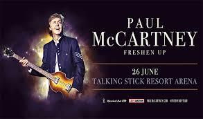 Paul Mccartney Seating Chart Paul Mccartney Talking Stick Resort Arena