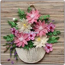Paper Quilling Flower Baskets 243 Best Basket Images Quilling Quilling Flowers Quilling Art