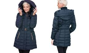 Kensie Womens Down Coats Size Xs Groupon