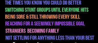 Cheerleading Quotes Unique Cheerleading Quotes Varsity Sideline