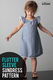 Simple Toddler Dress Pattern Simple Decoration