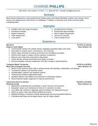 Automotive Technician Resume Diesel Mechanic Resume Sample Australia Inspirational Sel Of Auto 16