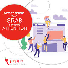 Pepper Designs Pvt Ltd We Create Website Designs That Grab Your Customers
