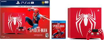 Spider man miles morales logo 4k iphone wallpapers. Best Buy Sony Playstation 4 Pro 1tb Limited Edition Marvel S Spider Man Console Bundle Amazing Red 3003194