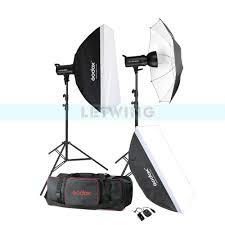 lighting set. Godox SK400 800W Compact Photo Studio Flash Lighting Set (2 X 400W) Digital Photography Strobe Light \u0026 Softbox Portrait Kit-in Accessories From T
