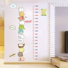 Kindergarten Height Chart Usd 16 85 Childrens Height Stickers Room Decoration Wall