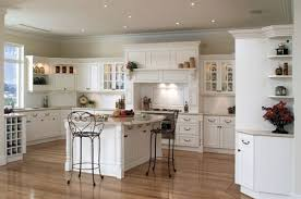 Kitchen Cabinets With Glass Doors White Kitchen Cabinets With Glass Doors