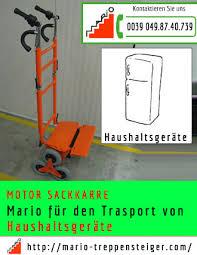 Die treppensackkarre von probautec verbindet eine hohe traglast mit einem sehr geringen eigengewicht von nur 8kg. Haushaltsgerate Trasport Auf Treppe