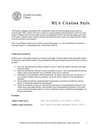 Mla Style Refrence Mla Citation Rules By Chris Mercer Issuu