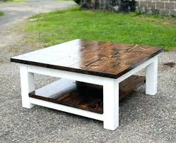 ... Square Reclaimed Wood Coffee Table Yonder Years Rustic Reclaimed Wood  Large Square Coffee Table Large Square
