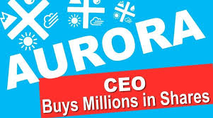 Acb Stock Chart Nyse Why Did Aurora Cannabiss Ceo Buy A Million Worth Of Shares