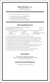 Sample Lpn Resume Objective Lpn Resume Sample New Graduate Best Resume Collection 19