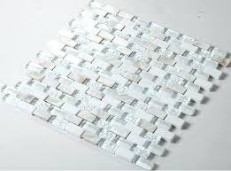 white glass mosaic tile canada clear tiles bathroom