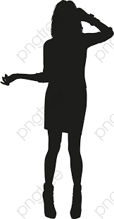 Transparent Fashion Girl Silhouette Png Format Image With Size 586