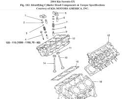 what is the head bolt tightening sequence for a the engine in this attached images