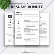 Clean And Simple Resume Template Pages Modern Cvord Templatesww