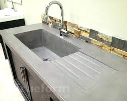 concrete countertops mold concrete concrete countertop molds canada make concrete countertop sink mold
