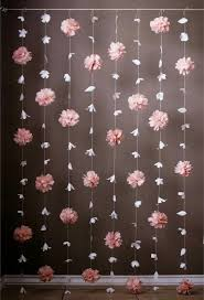 Hanging Paper Flower Backdrop Black And Gold Party All The Time Pinterest Paper Flowers