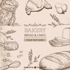 Bakery Drawings Free Vector Free Vectors Ui Download