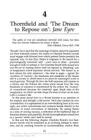 thornfield and the dream to repose on jane eyre springer inside