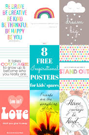Inspirational Quotes For Children Delectable 48 Free Inspirational Posters For Kids' Spaces