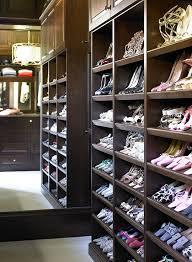 built in shoe rack