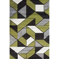 geometric rug pattern. Modern Green \u0026 Grey Geometric Rugs - Rio Rug Pattern G