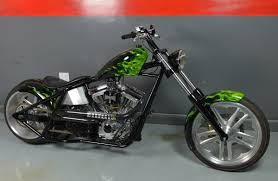 2008 special construction chopper black green marseilles