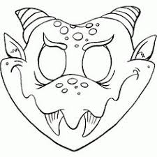 Small Picture Cute Printable Halloween Animal Paper Masks bat mask coloring page