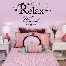 bedroom home decal mural art decor relax and unwind vinyl wall stickers quotes on vinyl wall art quotes for bedroom with bedroom home decal mural art decor relax and unwind vinyl wall