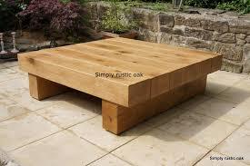 oak furniture coffee tables