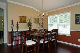 paint colors for dining rooms with chair rail dining room color schemes chair