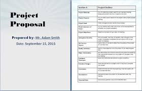 Cost Proposal Template Word Project Proposal Template Word Shatterlion Info