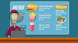Mcdonald S Menu Calorie Chart New Federal Requirement To Put Calorie Counts On Menus Might